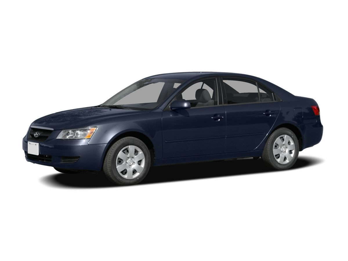 2007 Hyundai Sonata Black Leather Package6 SpeakersAMFM radioCD playerMP3 decoderAir Condit