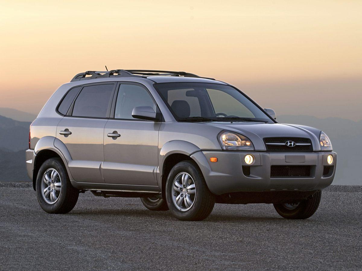 2007 Hyundai Tucson SE 4407 Axle Ratio16 x 65J 5-Double-Spoke Aluminum Alloy WheelsDeluxe Clot