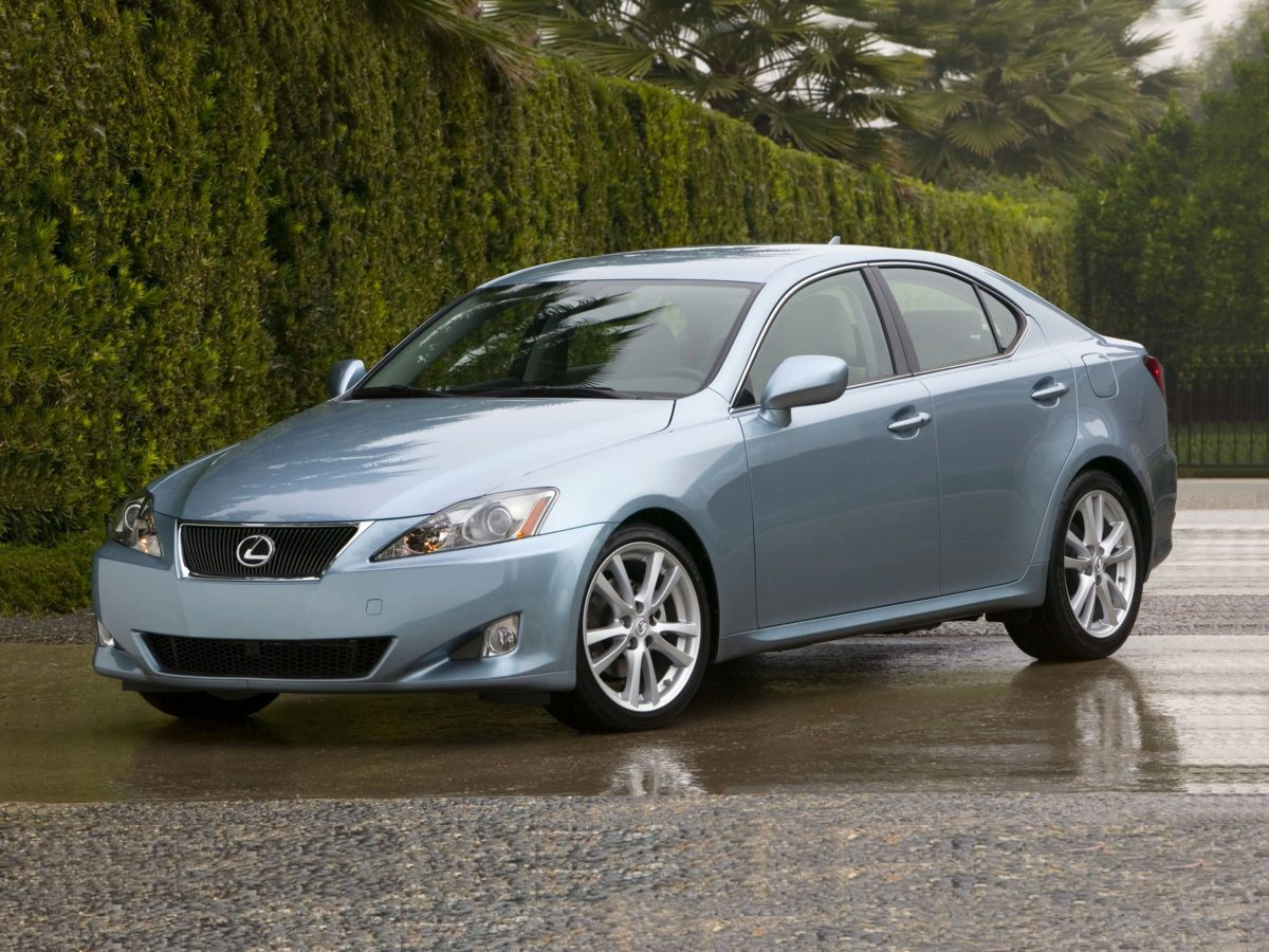2007 Lexus IS 250 Silver ONE OWNER  Youll NEVER pay too much at Jim Falk Lexus of Beverly Hill