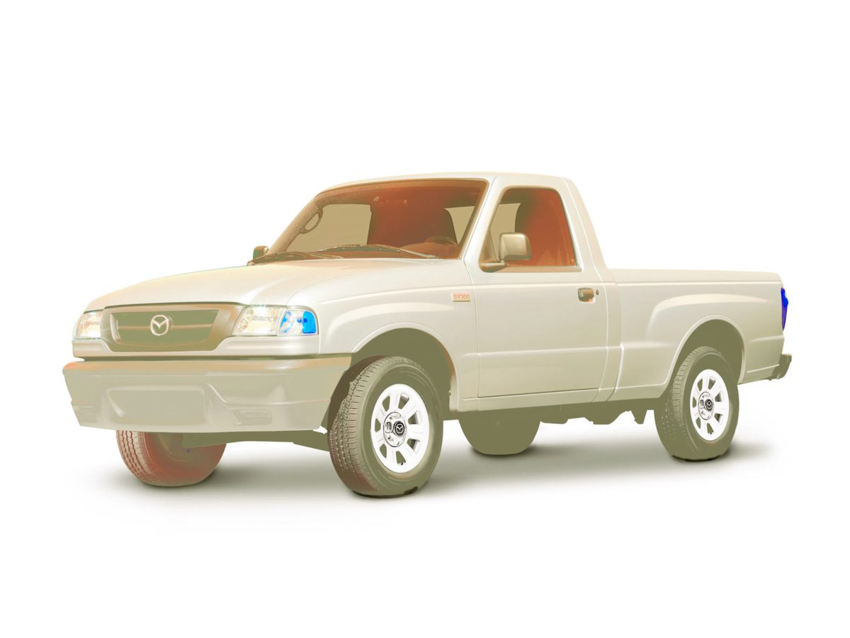 2007 Mazda B2300 Base White 410 Axle Ratio15 x 65 Steel Wheels6040 Split Bench Front SeatC