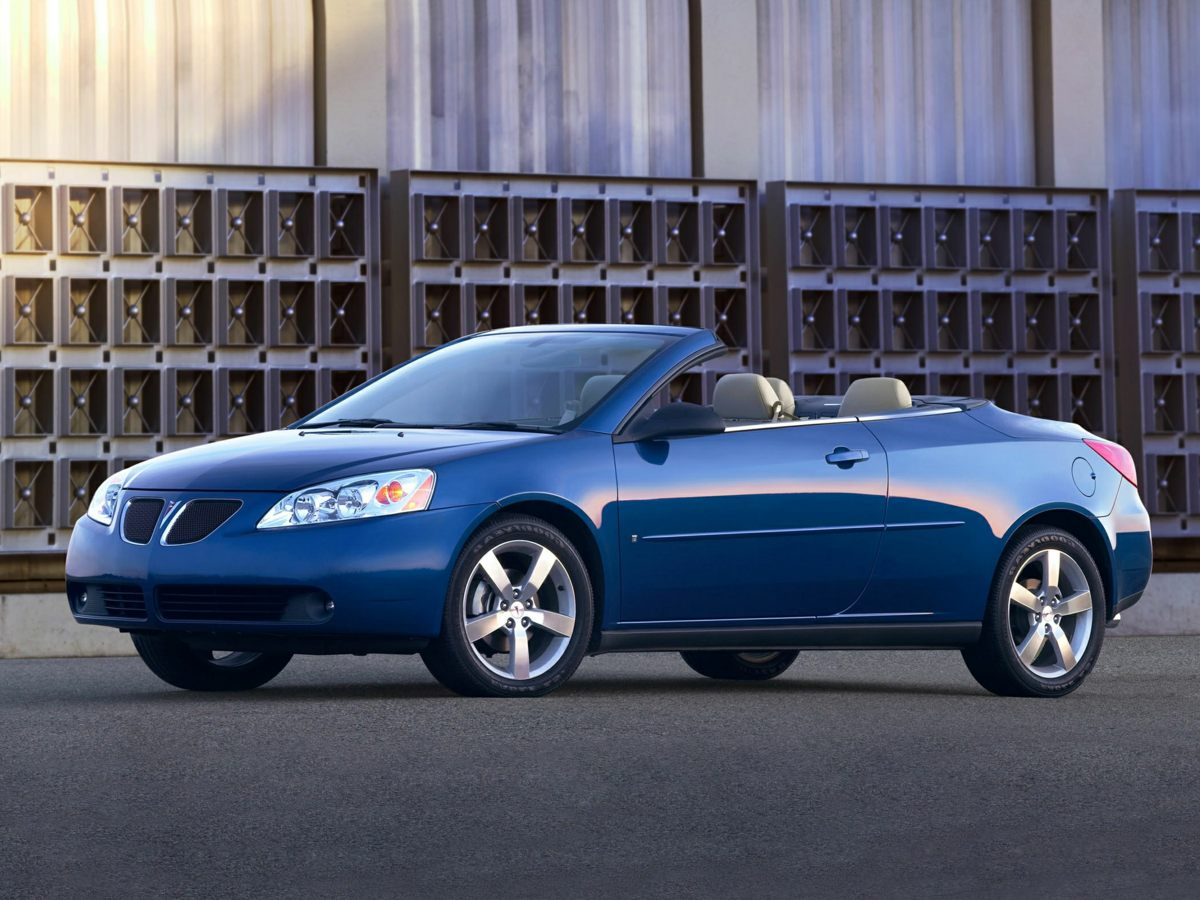 2007 Pontiac G6 GT Blue 39L V6 SFI Get ready for the sun Low miles indicate the vehicle is mer