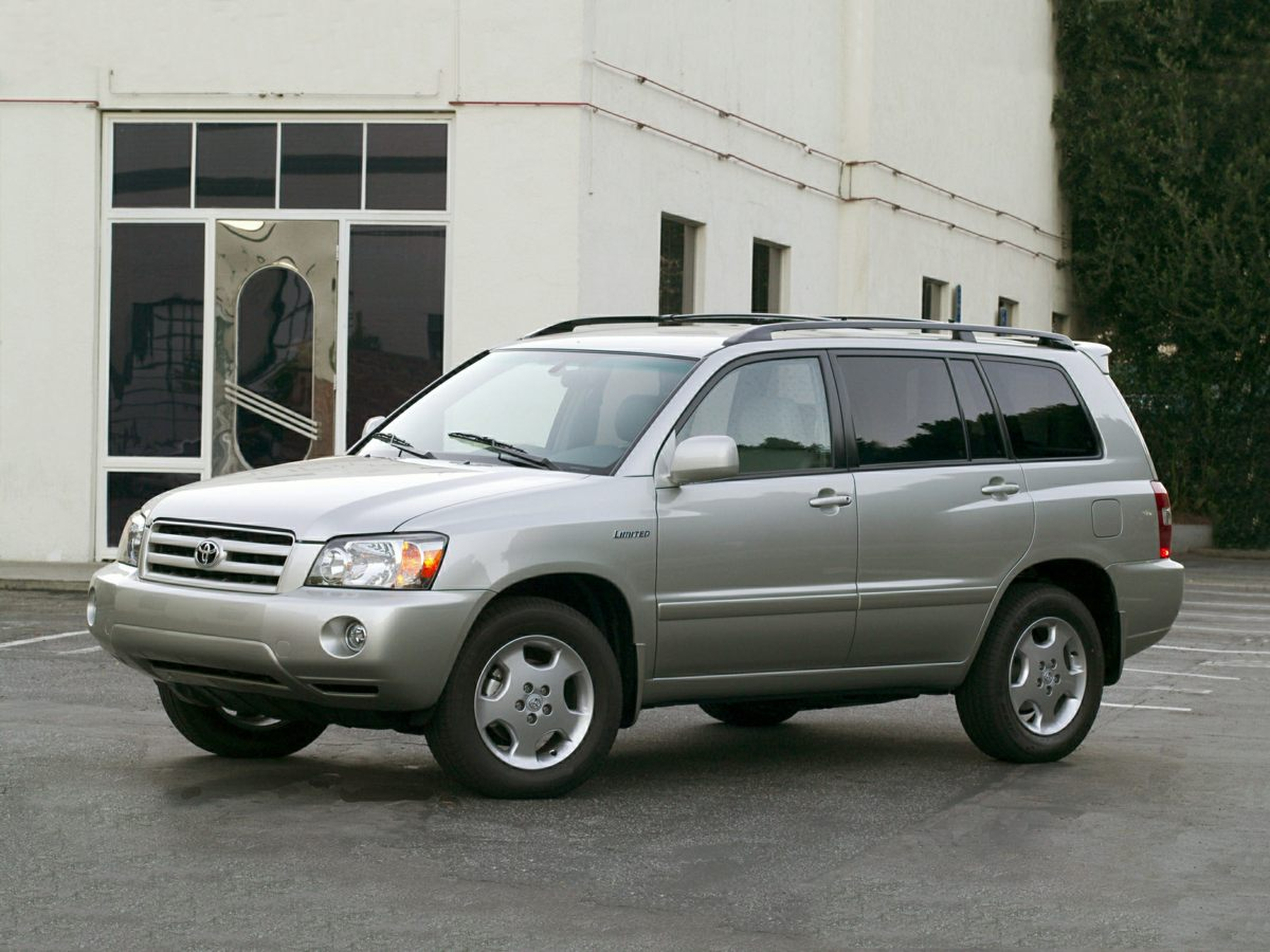 2005 Toyota Highlander Base Blue 312 Axle Ratio16 x 65J Silver Styled Steel WheelsFront Buck
