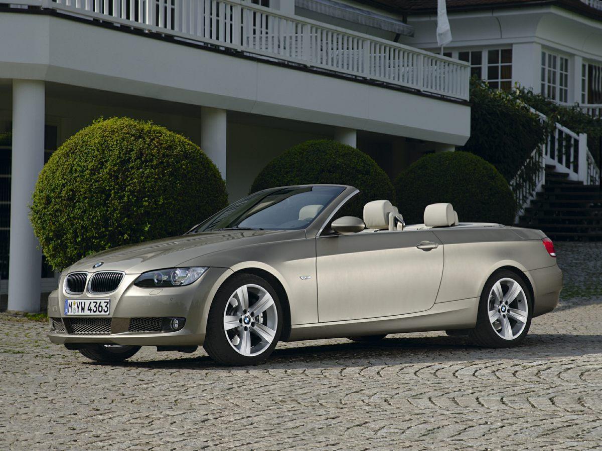 2008 BMW 3 Series 328i Black Convertible HardTop10 SpeakersAMFM radioAnti-Theft AMFM Stereo