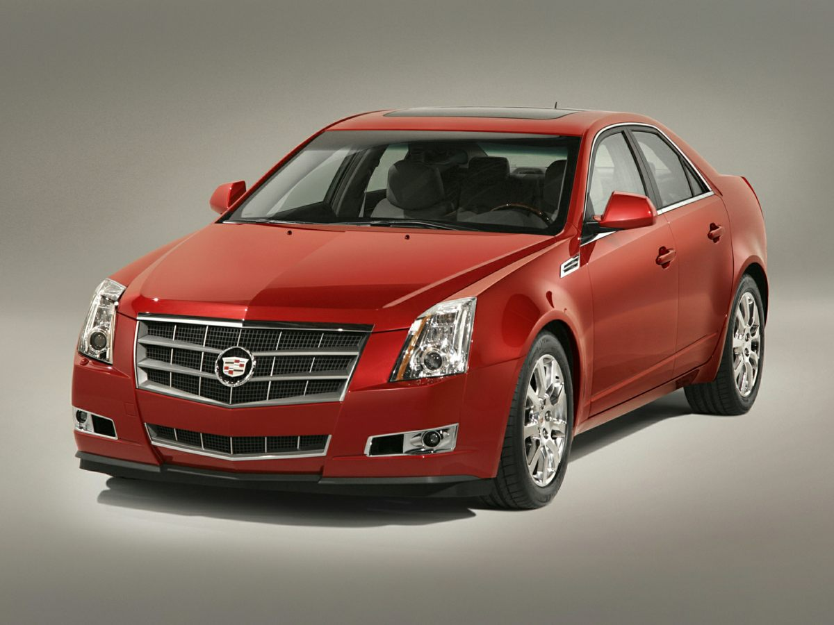2008 Cadillac CTS Base Blue Sticking power with super traction control Seize the road with solid