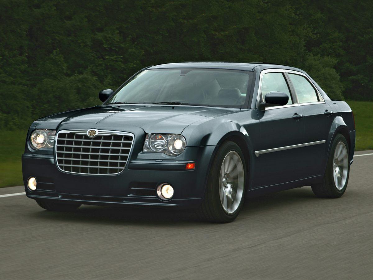 2008 Chrysler 300C Hemi Silver 6 SpeakersAMFM CD MP3 wSIRIUS SatelliteAMFM radio SIRIUSAud
