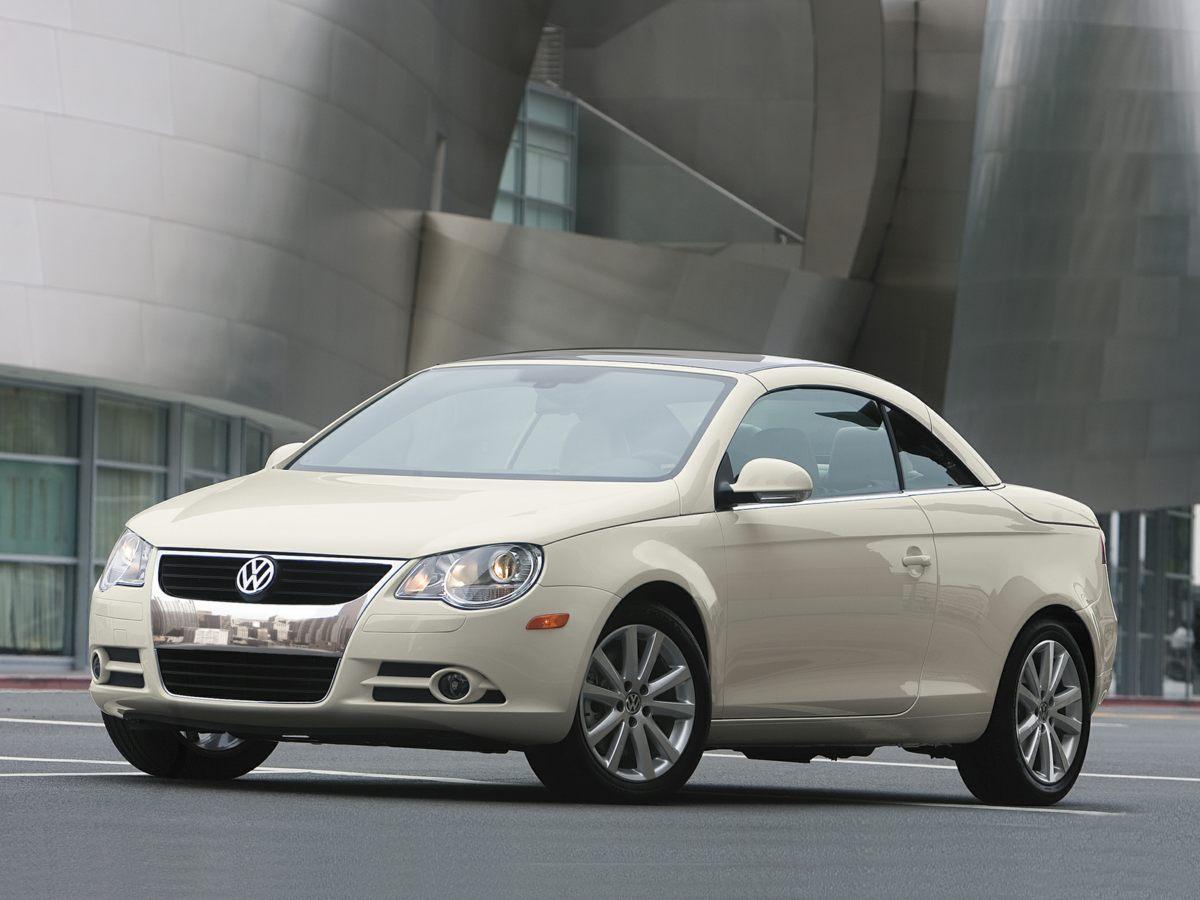 2008 Volkswagen Eos Lux 7 12 J x 17 Sienna Alloy WheelsFront Heatable Comfort SeatsVienna Leat