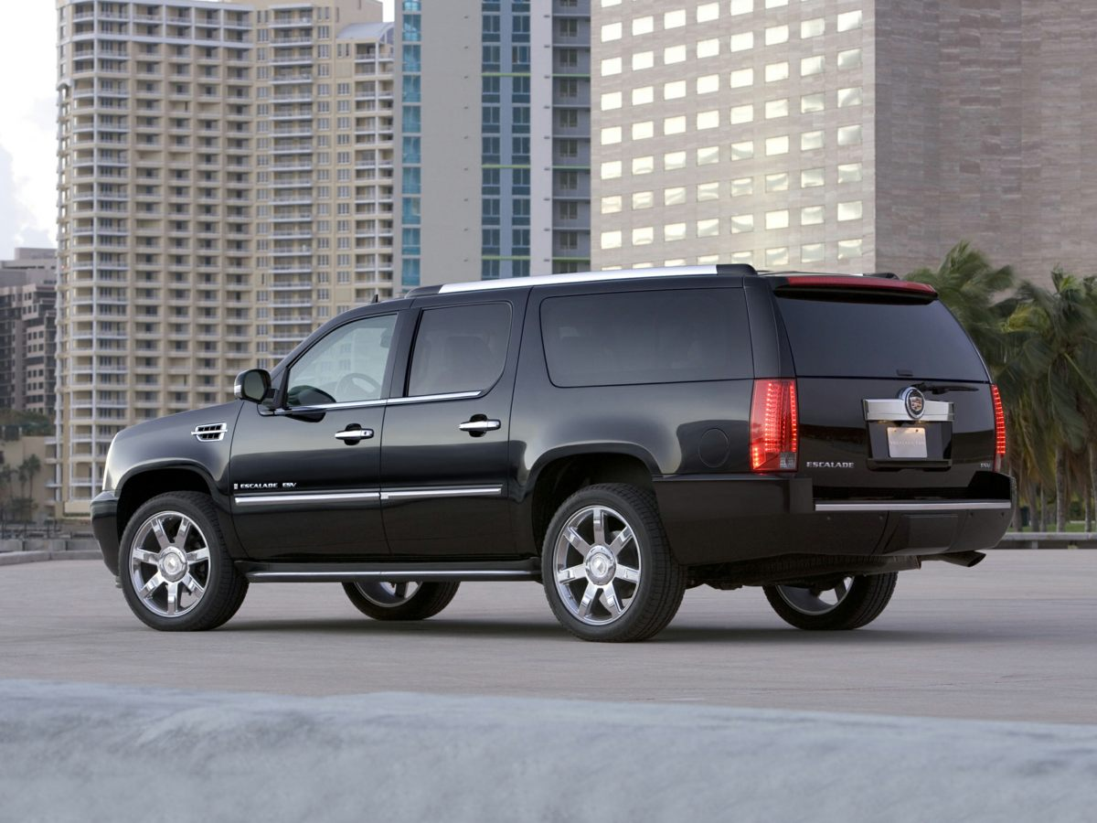 2012 Cadillac Escalade ESV Platinum Edition Black ONE OWNER and CLEAN CAR FAX AWD Only one form