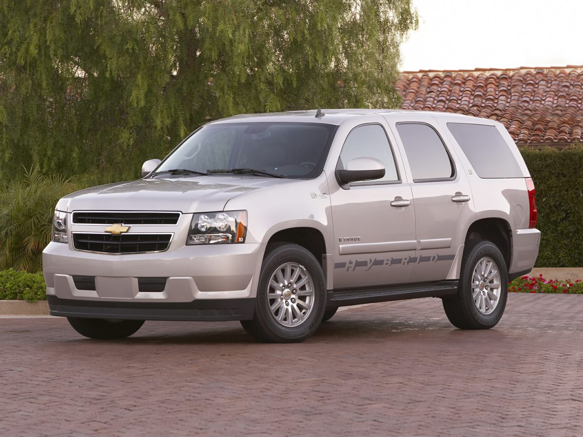 2009 Chevrolet Tahoe Hybrid 308 Rear Axle RatioHeated Front High-Back Reclining Bucket SeatsCust