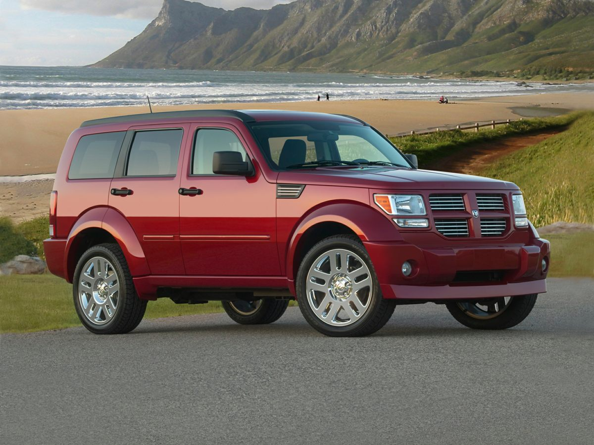 2009 Dodge Nitro SE White 2009 Dodge Nitro SE  in Inferno Red Crystal Pearlcoat Hot Options incl