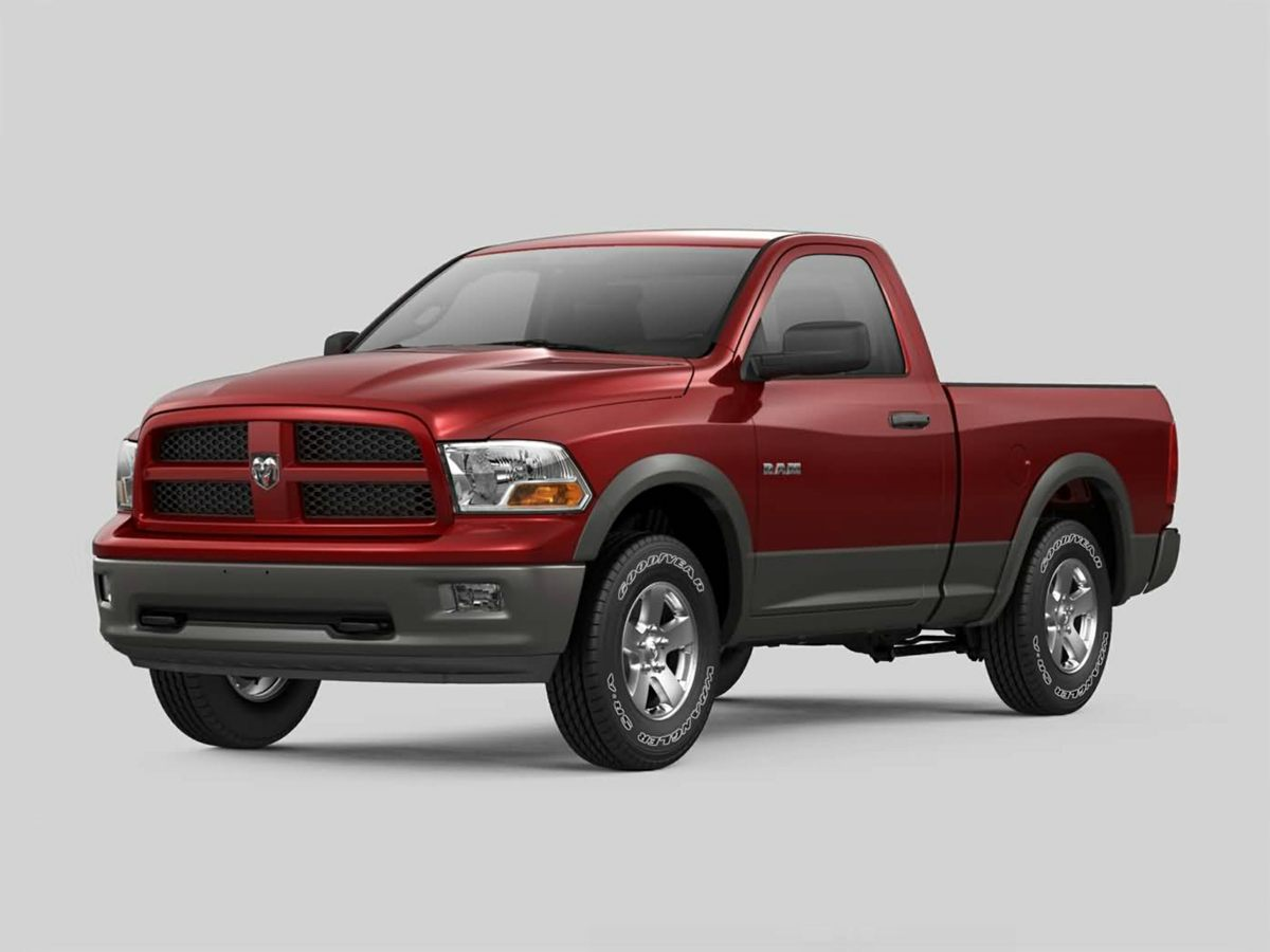 2012 Dodge Ram 1500 ST Silver 6 SpeakersAMFM radioCD playerMP3 decoderAir ConditioningPower
