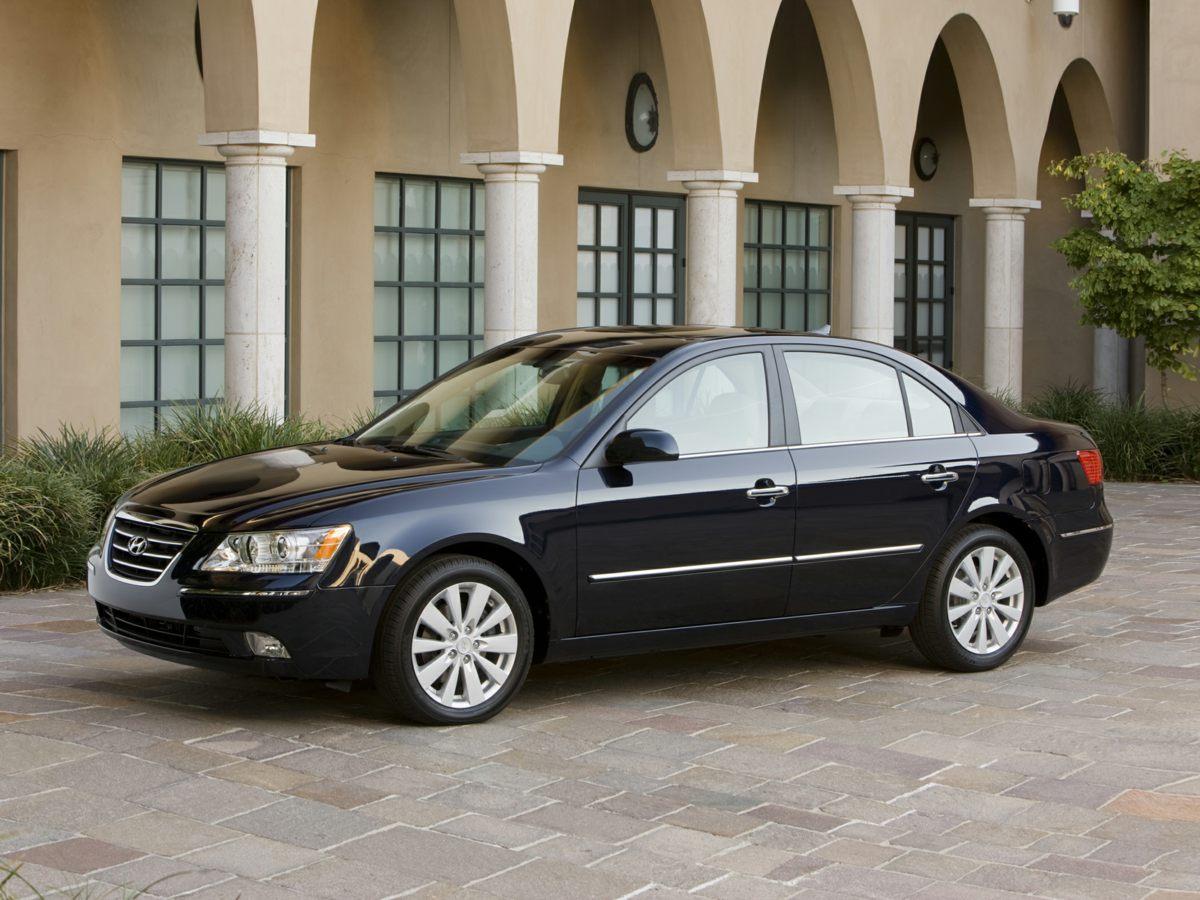 2009 Hyundai Sonata White Anti-Lock Braking System ABSDual Front  Front Side Impact AirbagsS