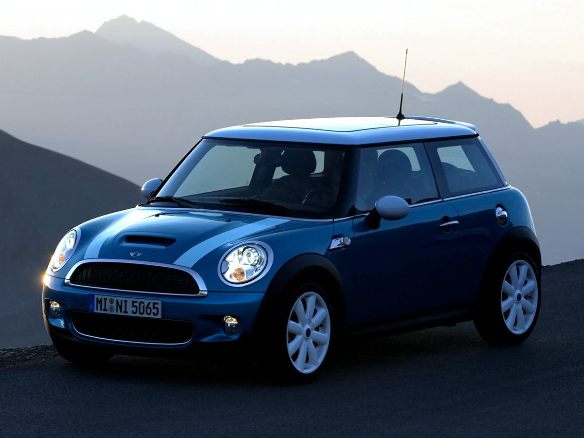 2009 Mini Cooper S Base Yellow 2D Hatchback and 6-Speed Manual with Overdrive Straightforward st