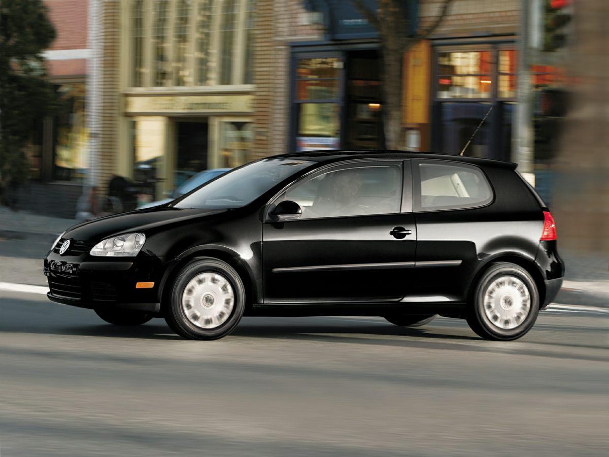 2009 Volkswagen Rabbit S Black 6J x 15 Steel Wheels wFull Wheel CoverFront Bucket SeatsMedia