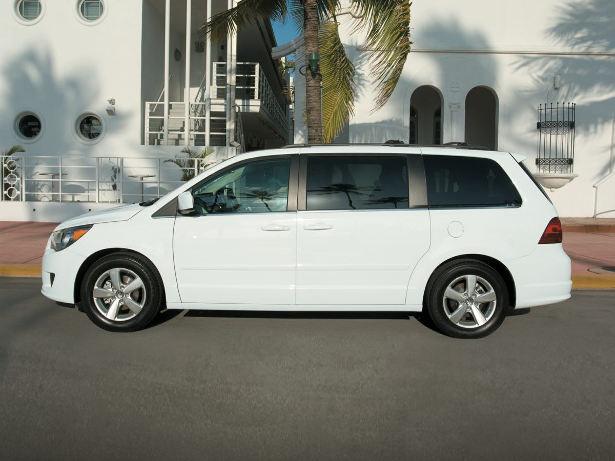 2011 Volkswagen Routan SEL Red Aero Gray wLeather Seating Surfaces Comfortable seats furnish a