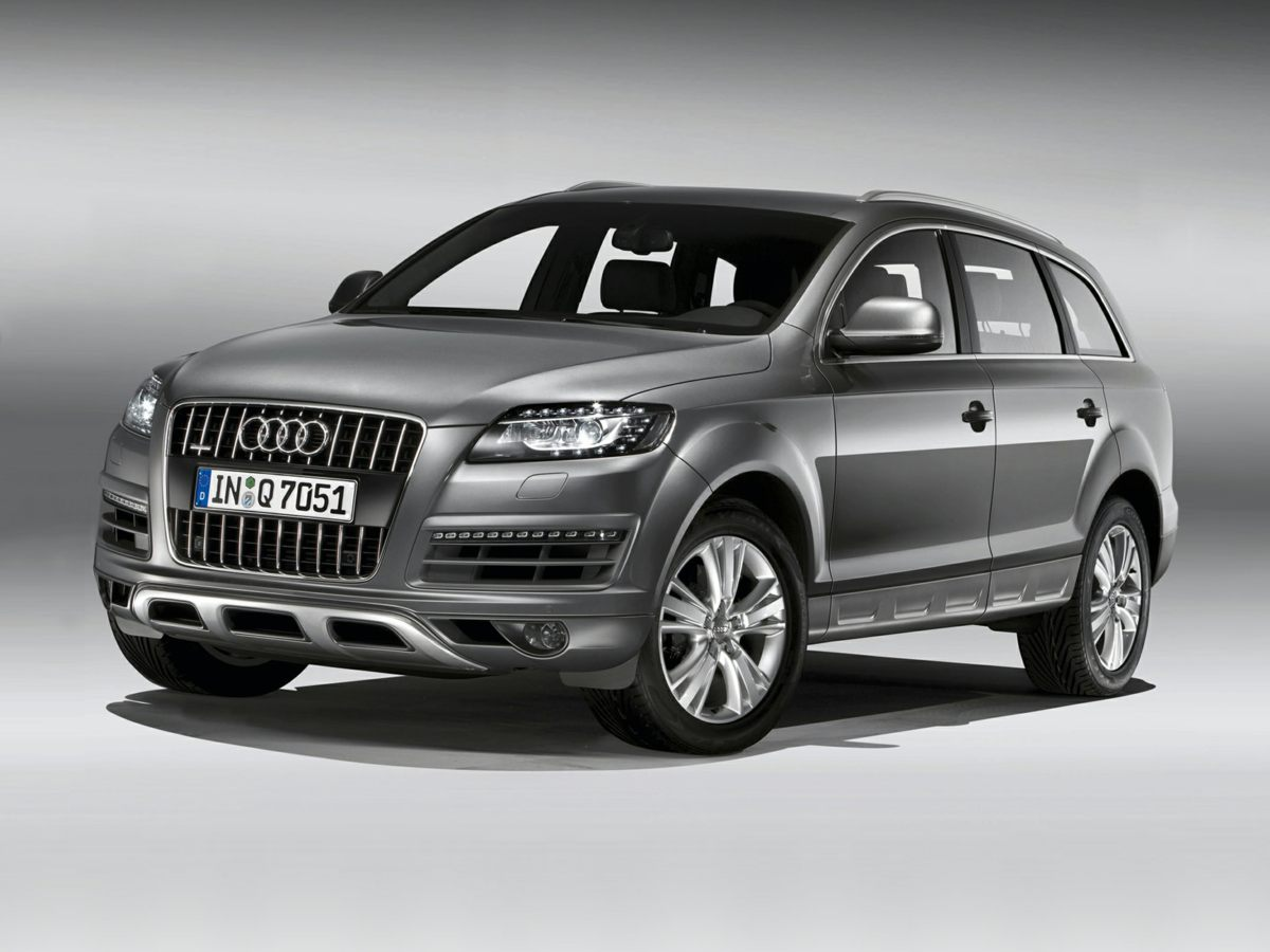 2012 Audi Q7 Silver 370 Axle Ratio6-Step Heated Front Bucket SeatsLeather Seating SurfacesRad