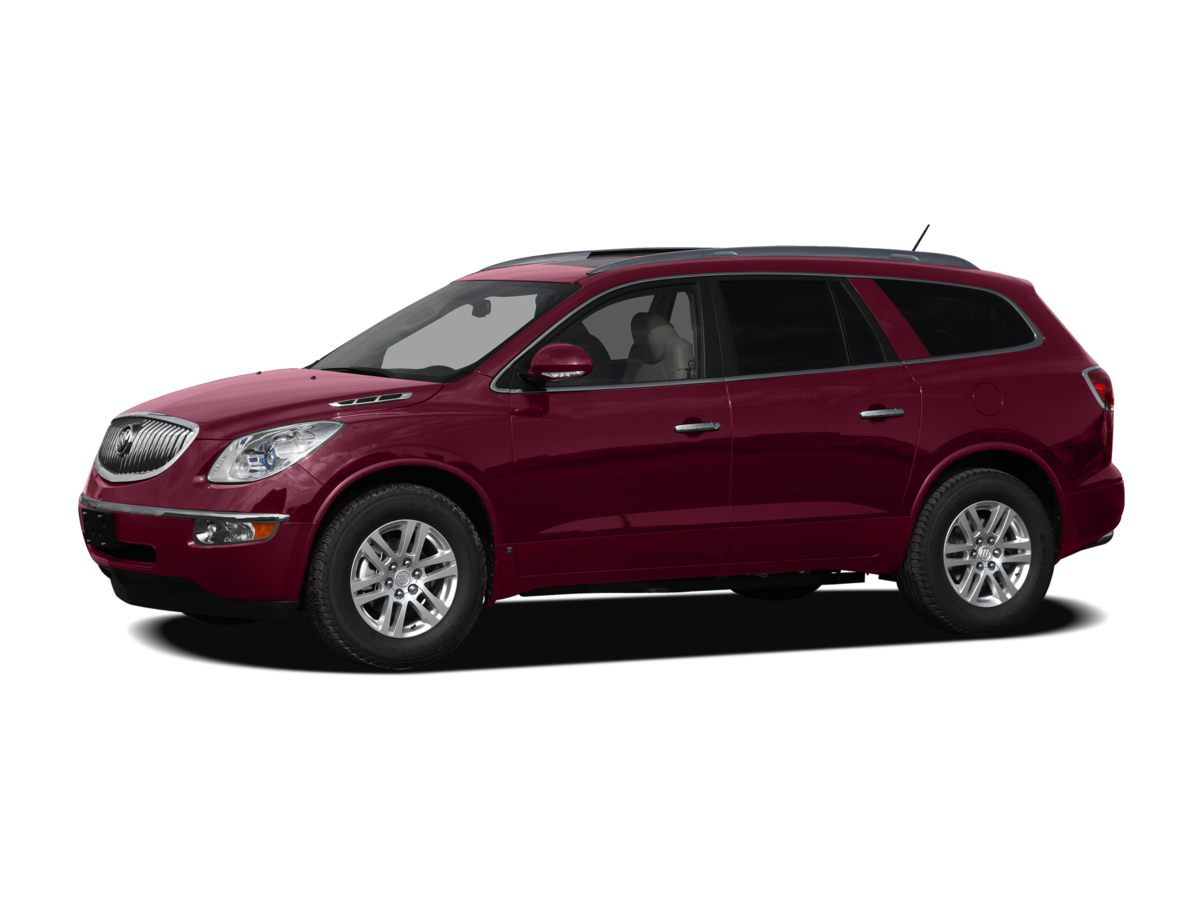 2010 Buick Enclave CXL White FWD Best years still ahead with these low miles Has seen very litt