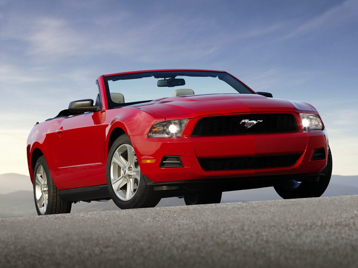 2012 Ford Mustang V6 Premium Black 8 SpeakersAMFM radioCD playerMP3 decoderPremium audio sys