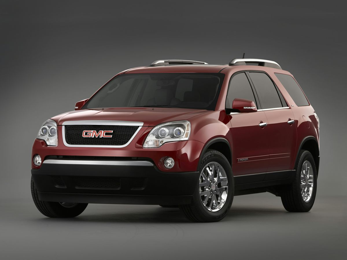 2012 GMC Acadia SLT-1 Black ONE OWNER AWD and Ebony wLeather-Appointed Seat Trim Low miles ind