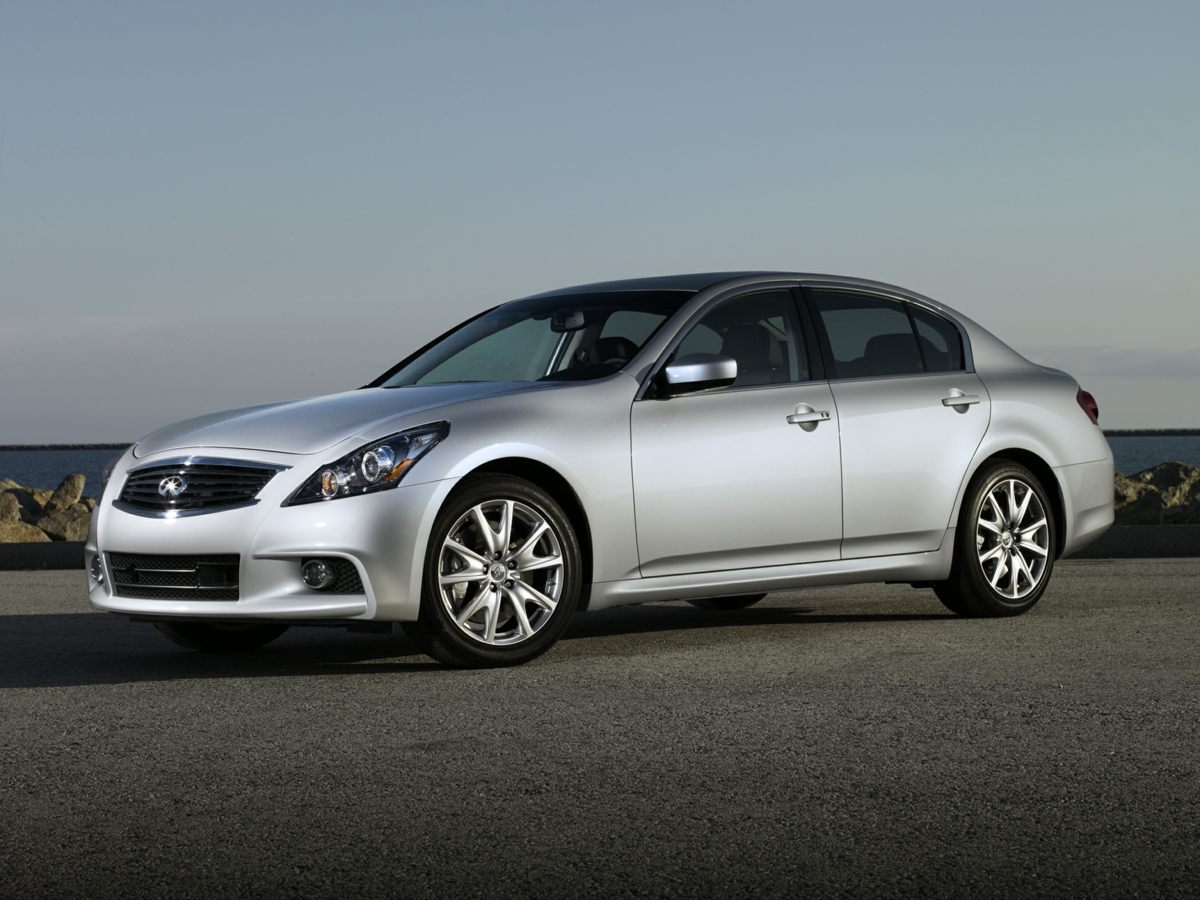 2011 Infiniti G37 Sport Appearance Edition 18 9-Spoke Aluminum-Alloy WheelsHeated Front Bucket S