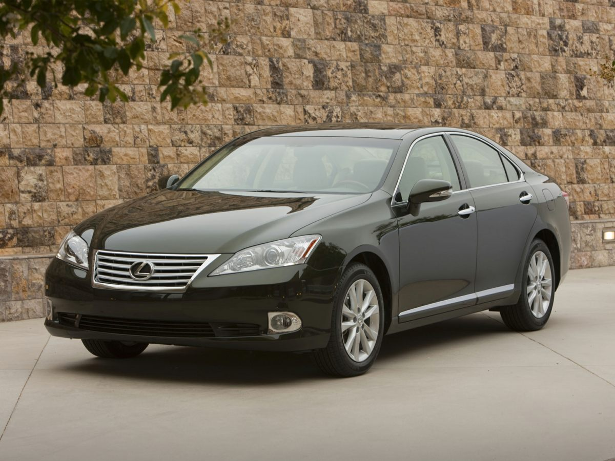 2011 Lexus ES 350 Black BE AWARE THAT THIS VEHICLE IS PRICED 3100 UNDER Kelley Blue Book Val