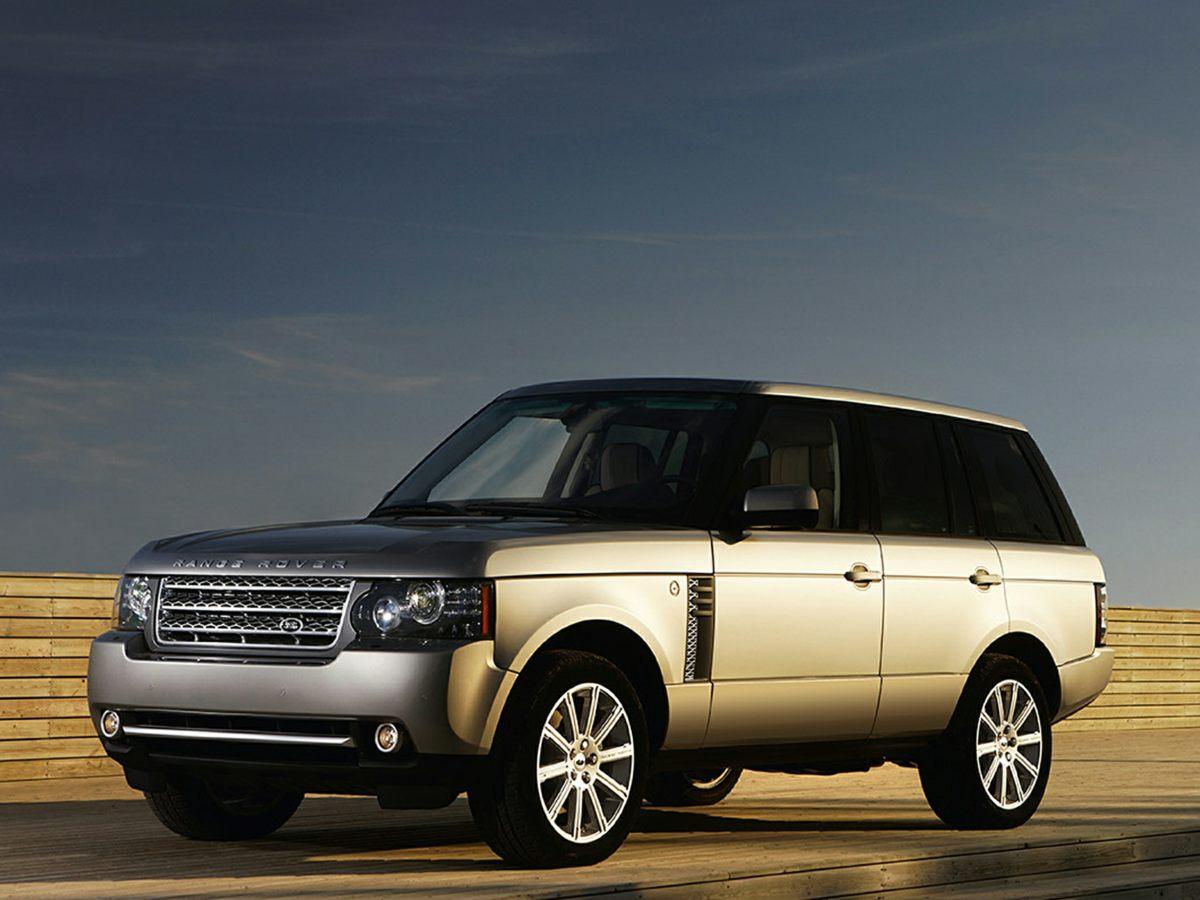 2010 Land Rover Range Rover HSE Gray Navigation System14 SpeakersAMFM radio SIRIUSharmankar