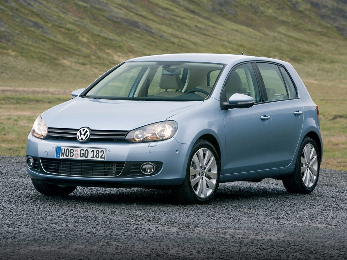 2014 Volkswagen Golf 25L Blue Graphite Metallic Cloth Gas miser Panoramic visibility NATION
