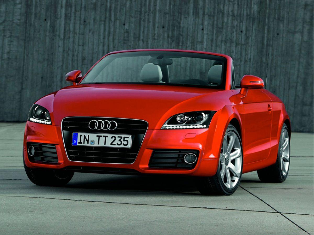 2012 Audi TT 20T Roadster Premium Plus Brown 9 SpeakersAMFM radioCD playerMP3 decoderRadio