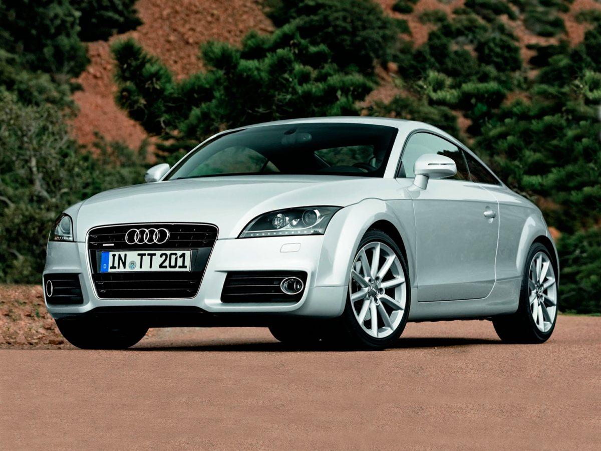 2011 Audi TT 20T Prestige White 9 SpeakersAMFM radio SIRIUSCD playerMP3 decoderRadio data