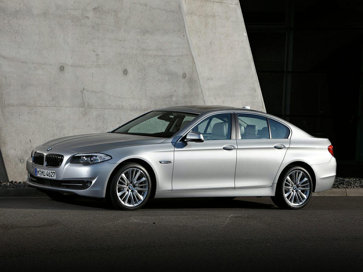 2011 BMW 5 Series 535i Leather Interior 535i 4D Sedan Navigation System Online Information Ser