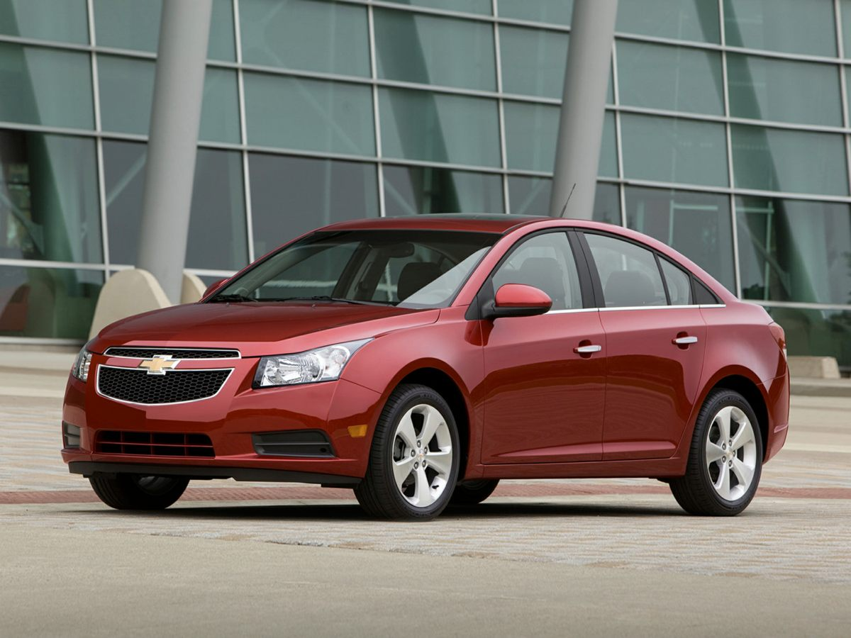 2012 Chevrolet Cruze LTZ Red 18 Double 5-Spoke Silver-Painted Alloy WheelsFront Bucket SeatsMer