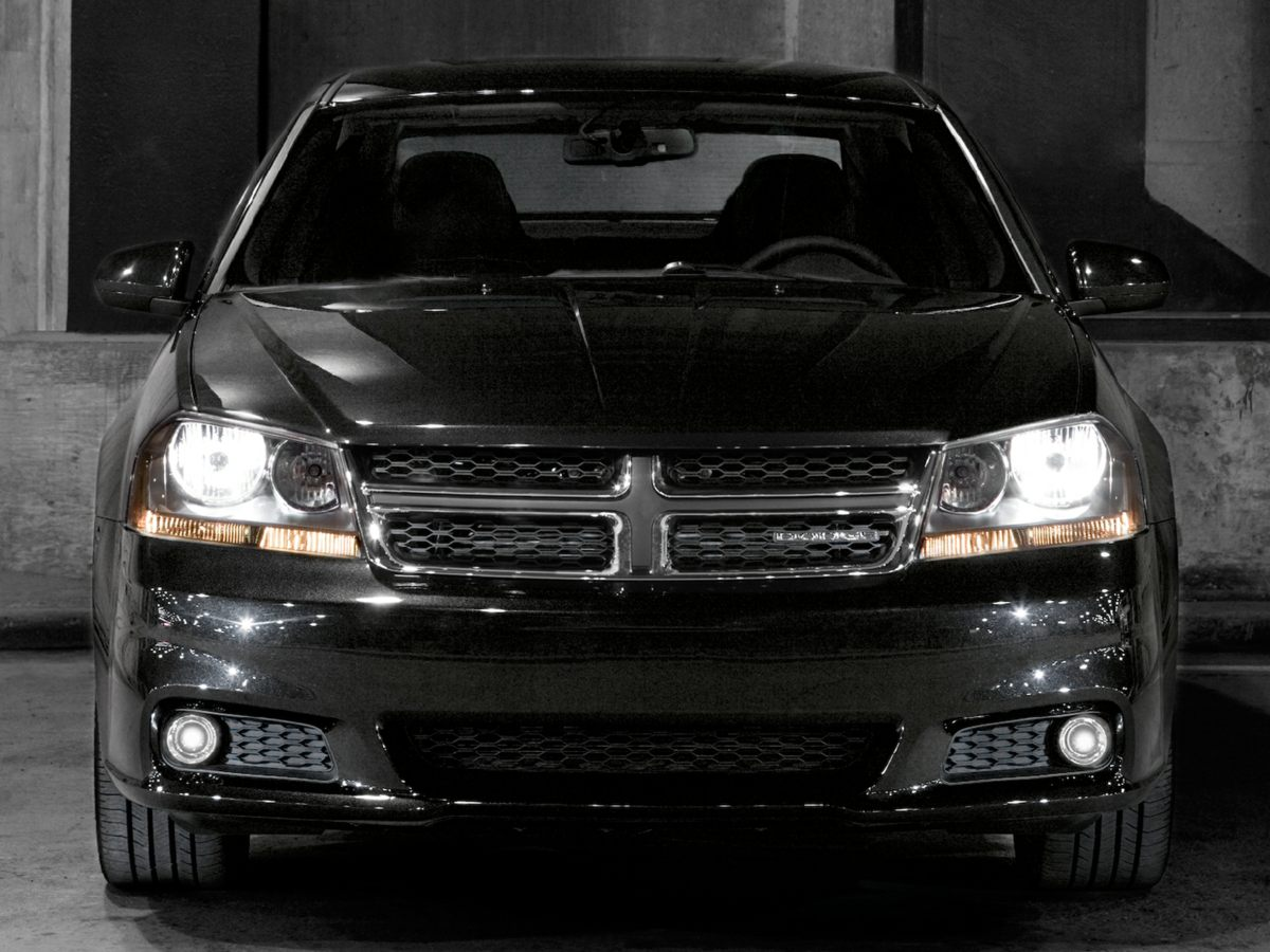 2013 Dodge Avenger SE Black 4 SpeakersAMFM radioCD playerMP3 decoderRadio Uconnect 130 AMF
