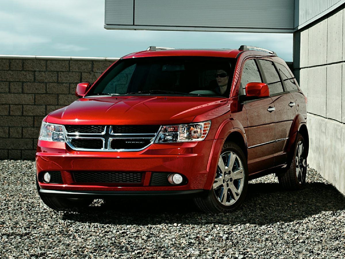 2014 Dodge Journey Limited White You Win Oh yeah Tired of the same tiresome drive Well change