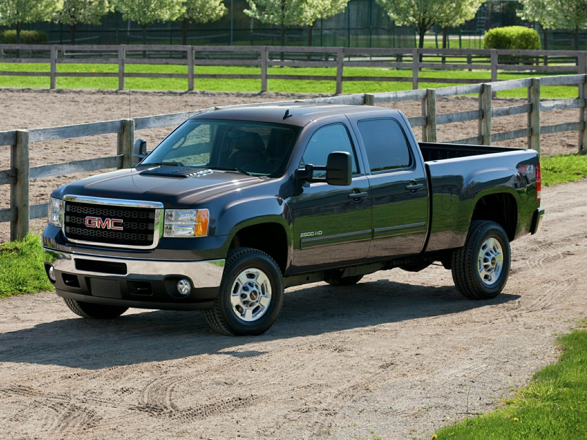 2014 GMC Sierra 2500HD SLE White 410 Rear Axle RatioFront 402040 Reclining Split-Bench SeatSI