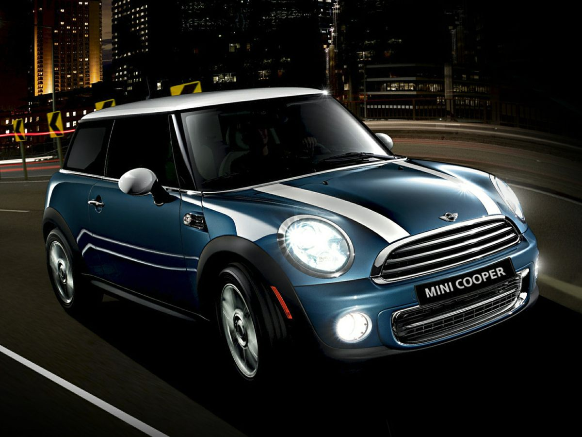 2013 Mini Cooper Base Blue Front Bucket SeatsSensaTec Leatherette UpholsteryAMFMCD w6 Speaker
