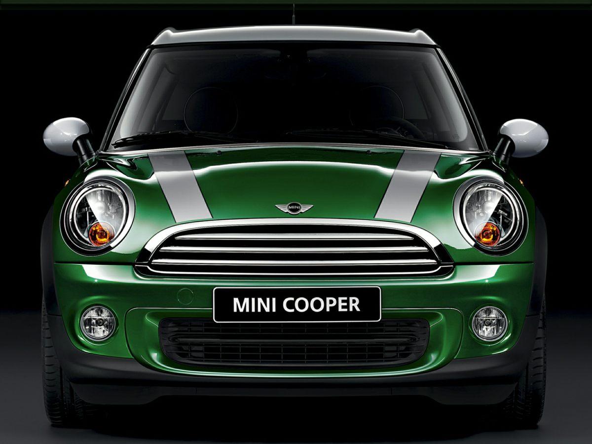 2012 Mini Cooper Clubman Orange Front Bucket SeatsLeatherette UpholsteryAMFMCD w6 Speakers4