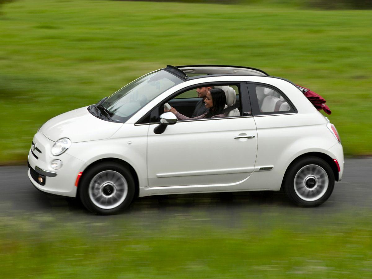 2012 Fiat 500c Pop White STILL UNDER FACTORY WARRANTY CLEAN CARFAX ONE OWNER NON-