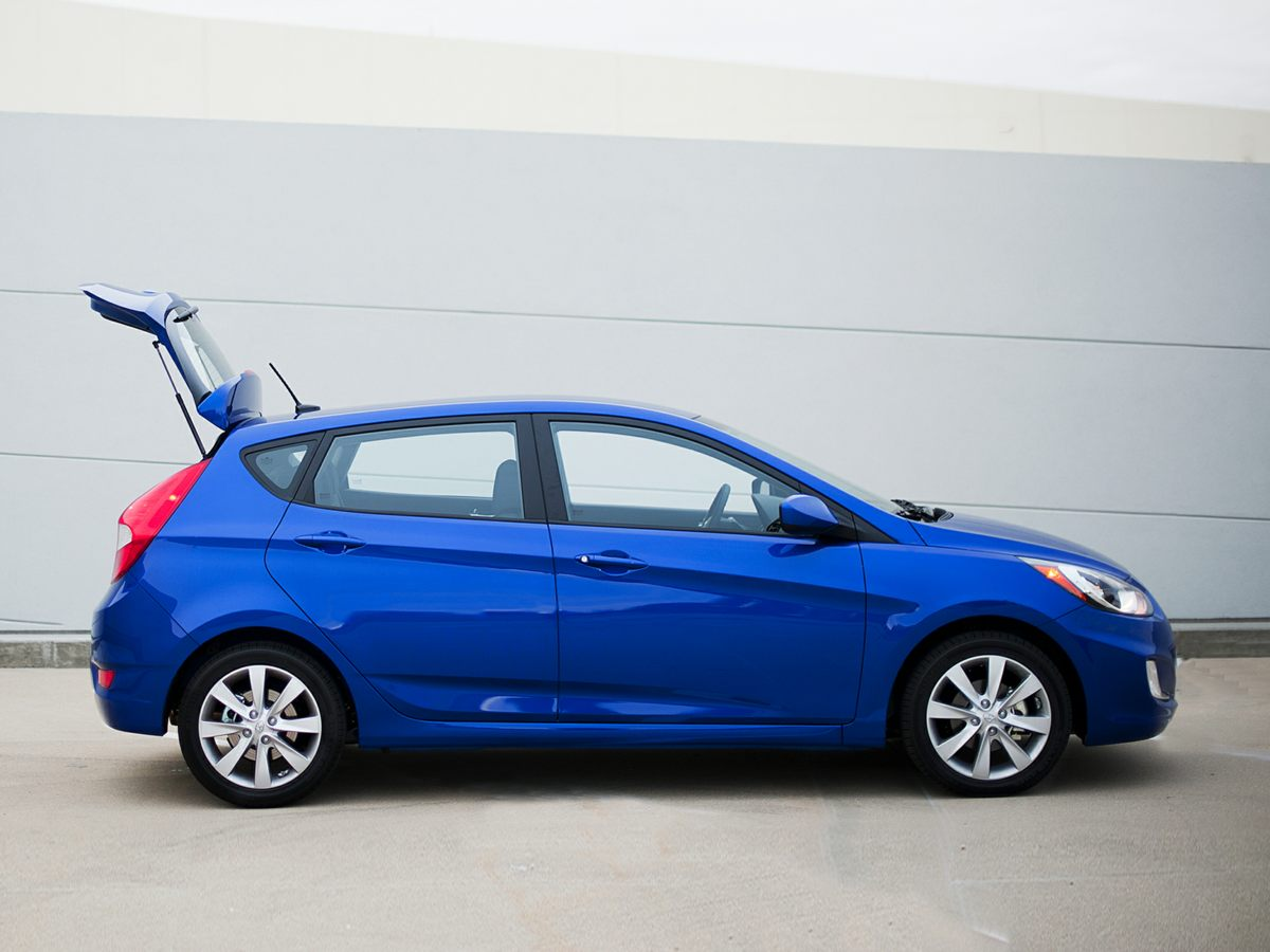 2012 Hyundai Accent SE Gray Accent SE 4D Hatchback and 6-Speed Manual 6spd Come to the expert