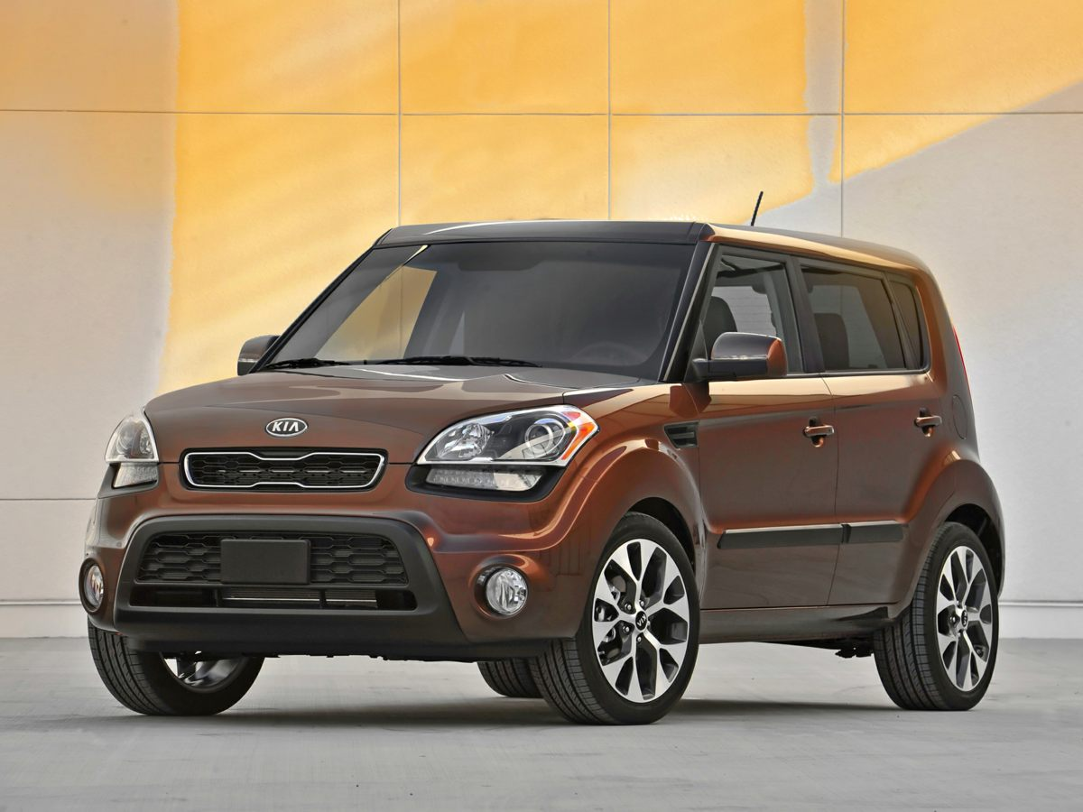 2012 Kia Soul Red Cloth Seat TrimFront Bucket Seats4-Wheel Disc BrakesAir ConditioningElectron