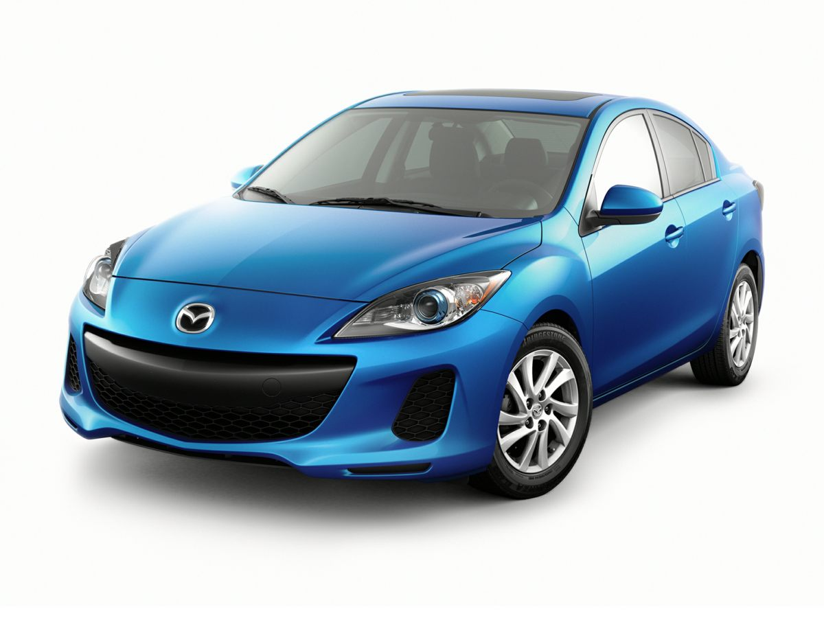 2012 Mazda Mazda3 i Blue 6 SpeakersAMFM radioAMFMCDMP3 Compatible Audio SystemCD playerMP