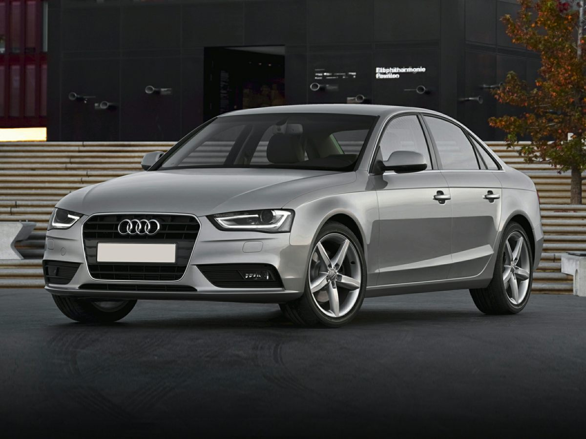 2013 Audi A4 White 80J x 17 10-Spoke-Star-Design WheelsPower Front SeatsLeather Seating Surfa