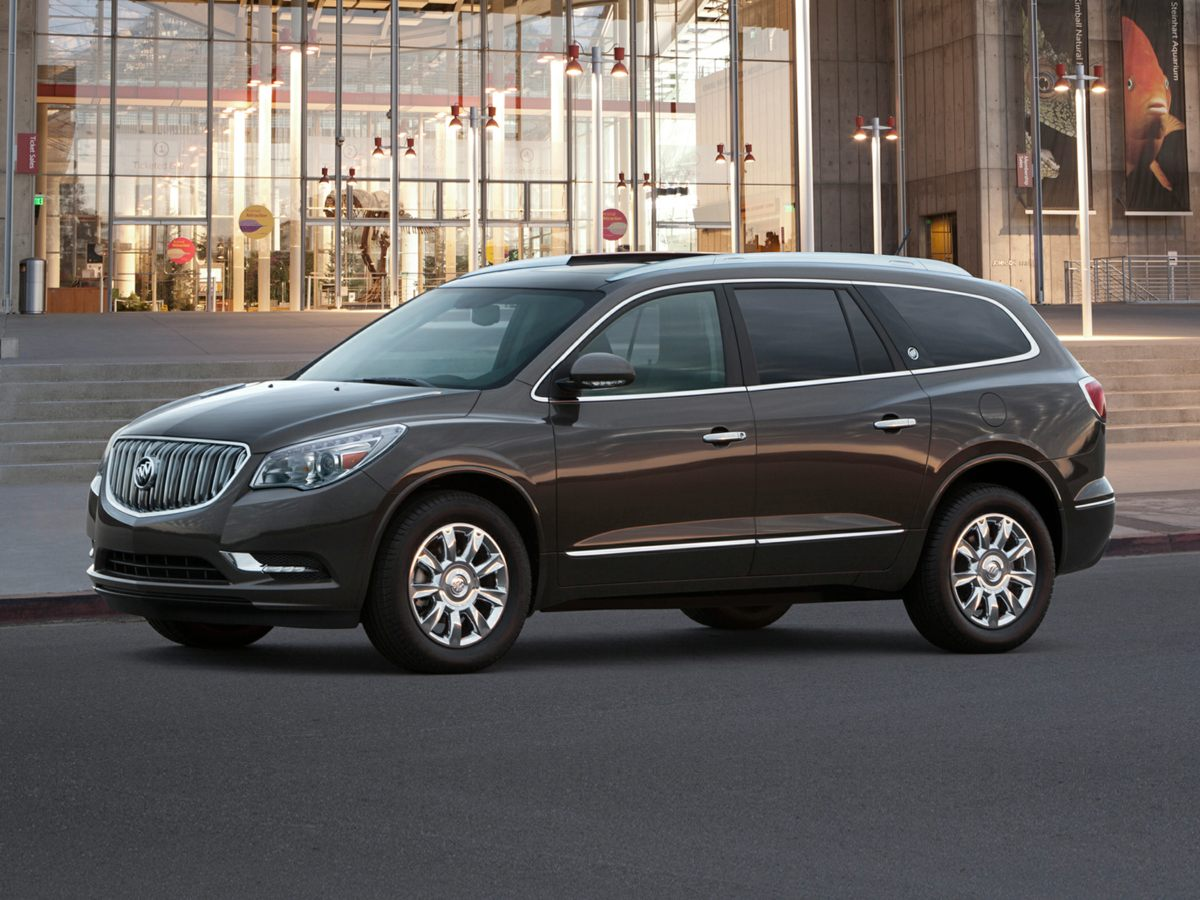 2015 Buick Enclave Leather Group Silver Net Price includes 500 - General Motors Bonus Cash Prog