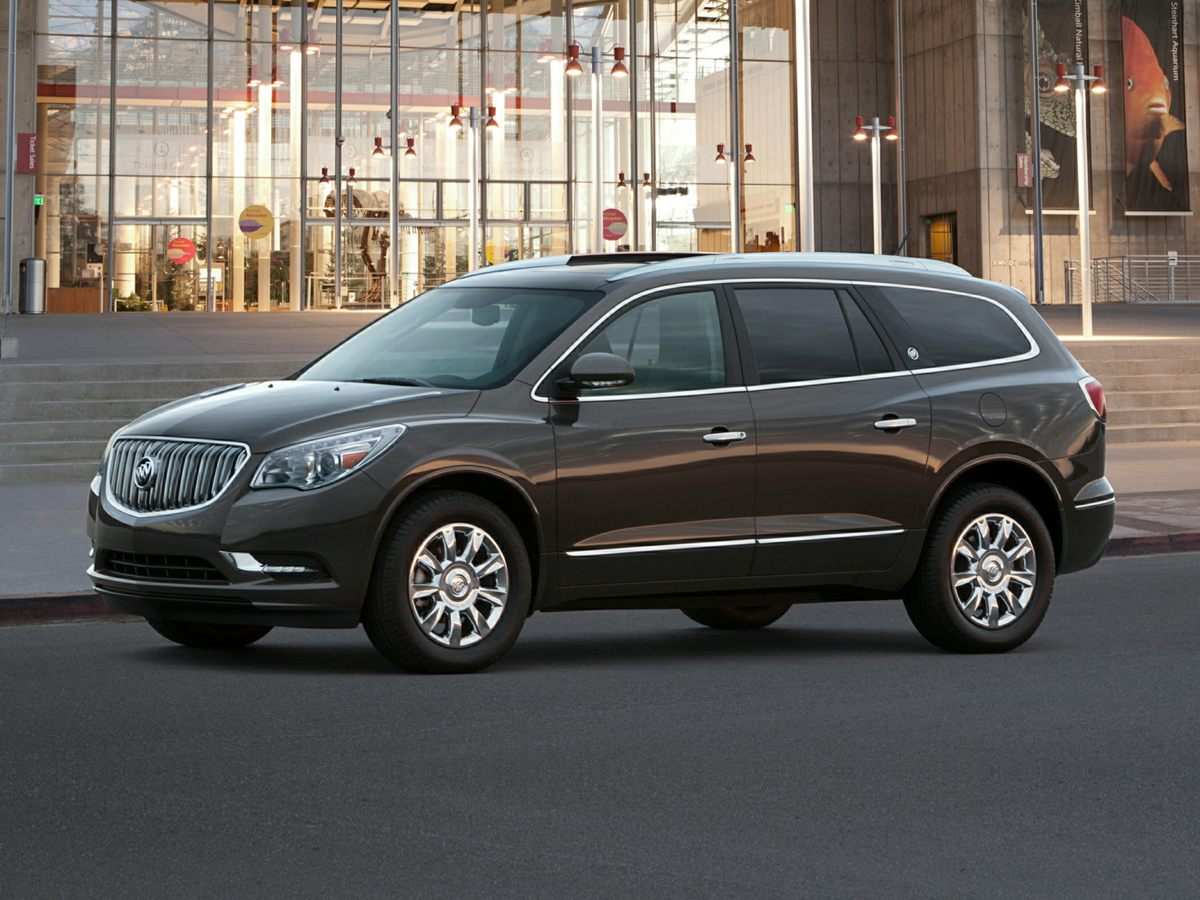 2015 Buick Enclave Leather Group Brown Net Price includes 1500 - General Motors Consumer Cash