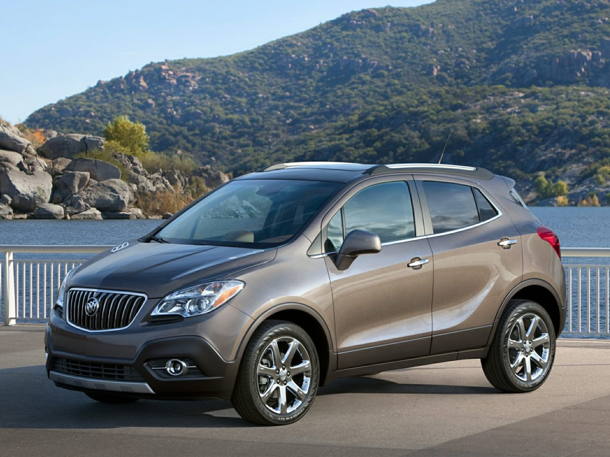 2015 Buick Encore Base White Net Price includes 750 - Buick GMC National Purchase Bonus Cash E