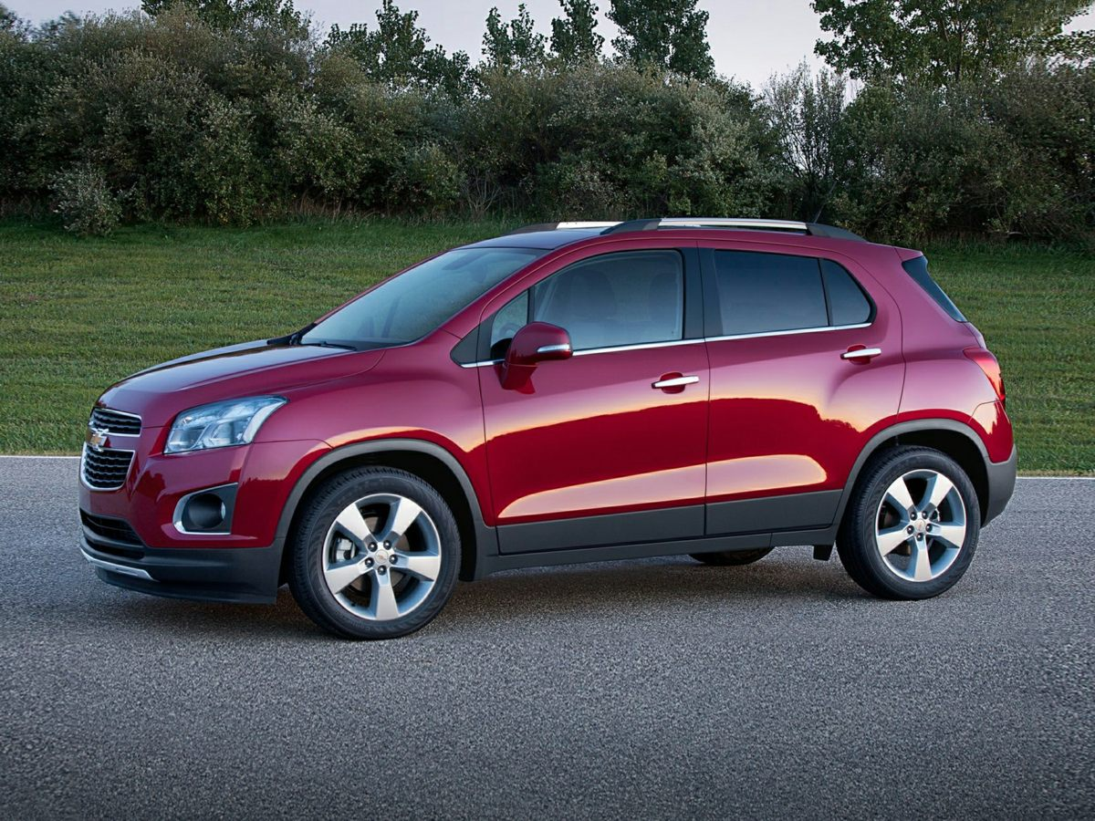 2015 Chevrolet Trax 1LT Silver Turbocharged Silver Bullet Be the talk of the town when you roll