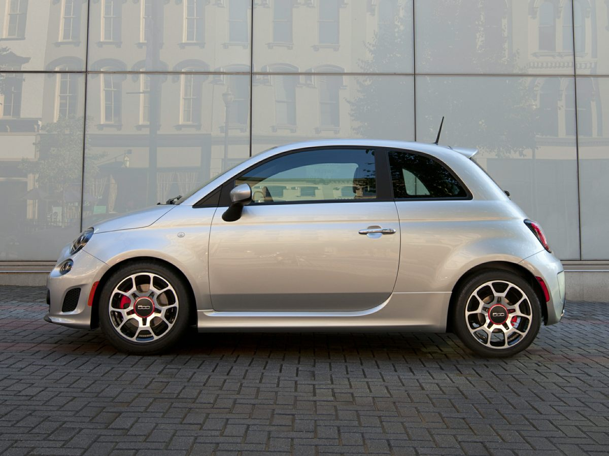 2013 Fiat 500 Turbo Red 14L I4 16V MultiAir Turbocharged 110 POINT INSPECTION CLEAN CARFA
