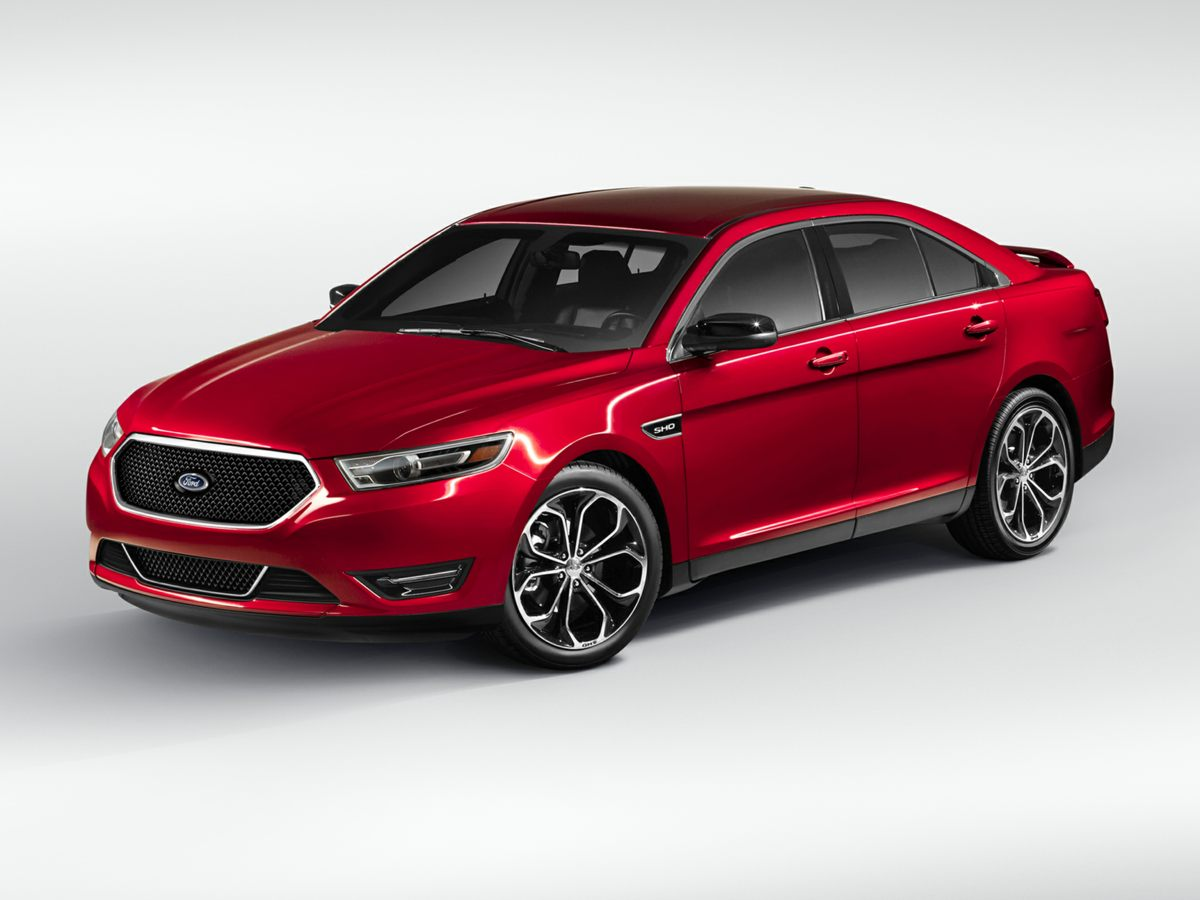2013 Ford Taurus SHO Gray Taurus SHO and AWD Your lucky day Move quickly SUPER LOW MILES