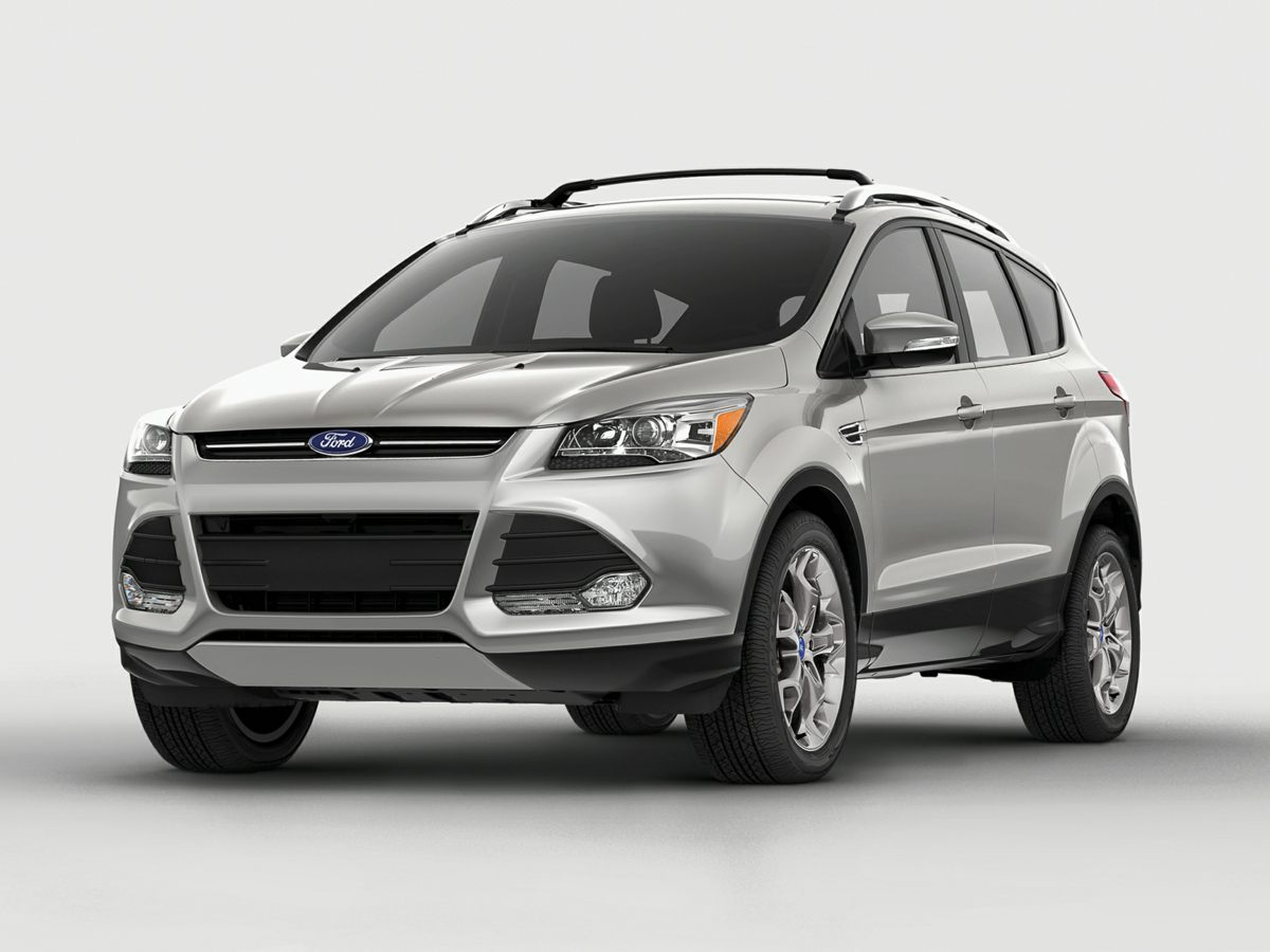 2016 Ford Escape Titanium Red Leather Interior Escape Titanium and 4D Sport Utility Turbocharge