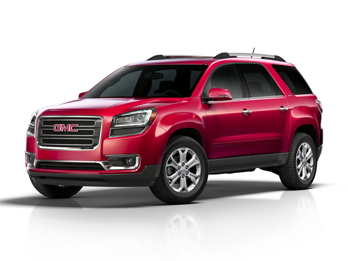 2015 GMC Acadia SLT-1 White Net Price includes 500 - General Motors Bonus Cash Program Exp 03