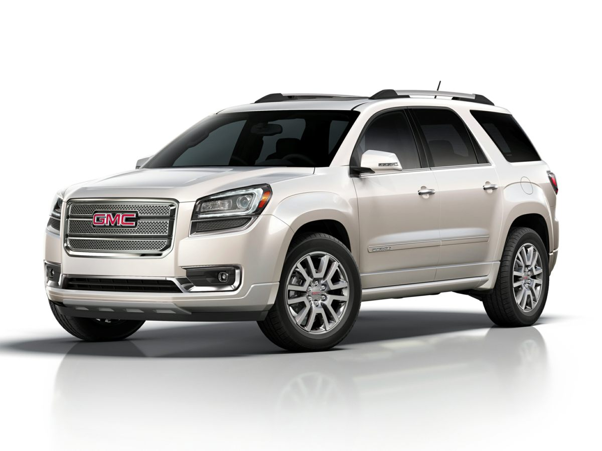 2015 GMC Acadia Denali Silver Net Price includes 1500 - General Motors Consumer Cash Program