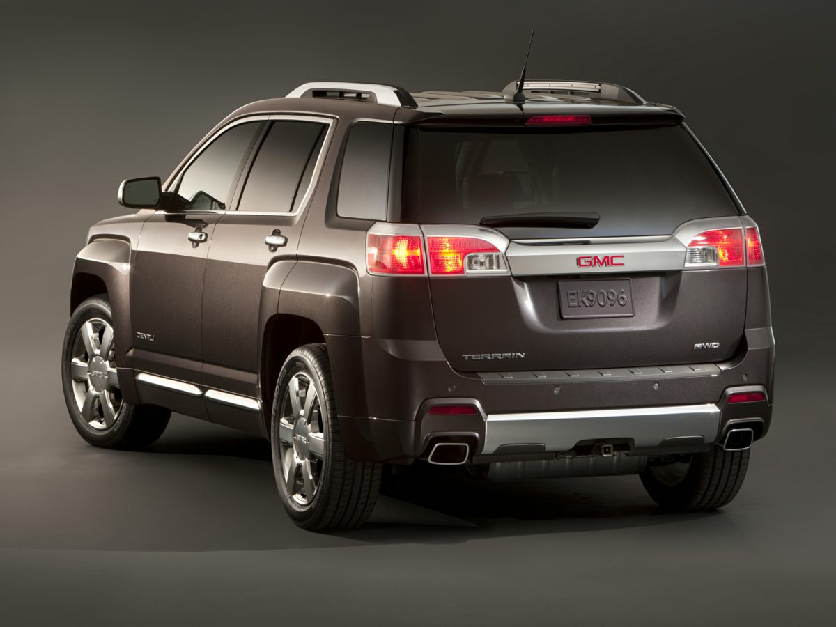 2015 GMC Terrain Denali Red Net Price includes 1000 - General Motors Consumer Cash Program Ex